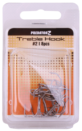 Predator-Z Treble Hook (choix entre 8 options)