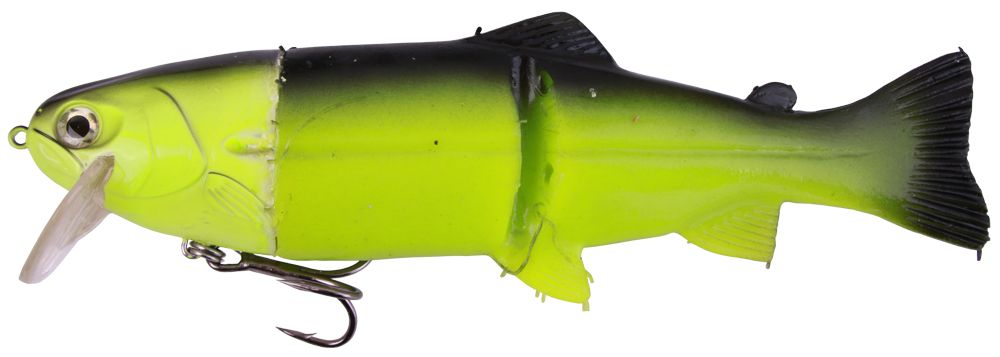 "Castaic Hard Head Real Bait 12"" Slow Sinking (plusieurs options) - Chartreuse"
