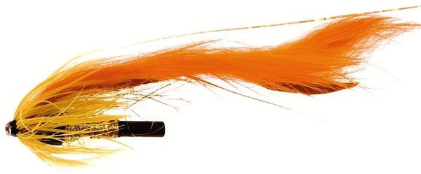 Unique Flies Jetstream Zonker, tubefly pour la pêche des carnassiers ! - Dirty Orange