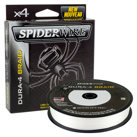 Spiderwire Dura 4 Braid Translucent (choix entre 9 options)