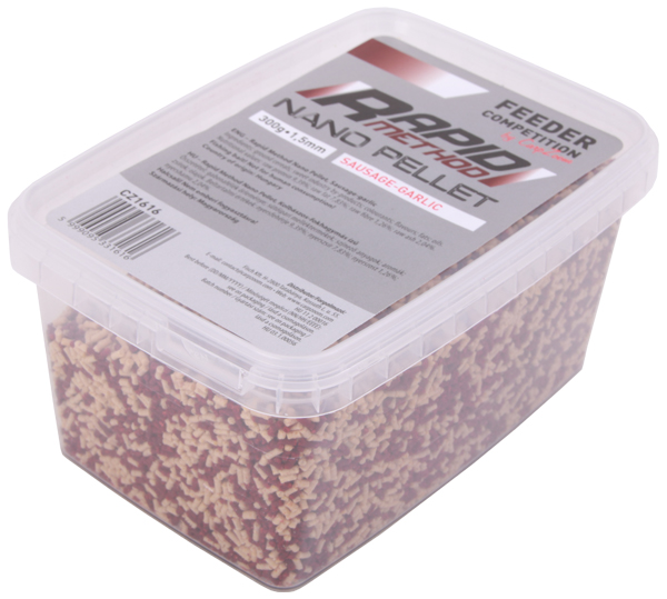 Carp Zoom Rapid Method Nano Pellet, 1,5 mm, 300 gr