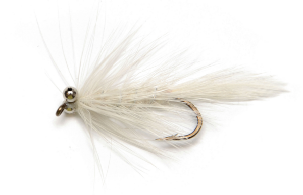 Magic Trout Mouches - Gazer White