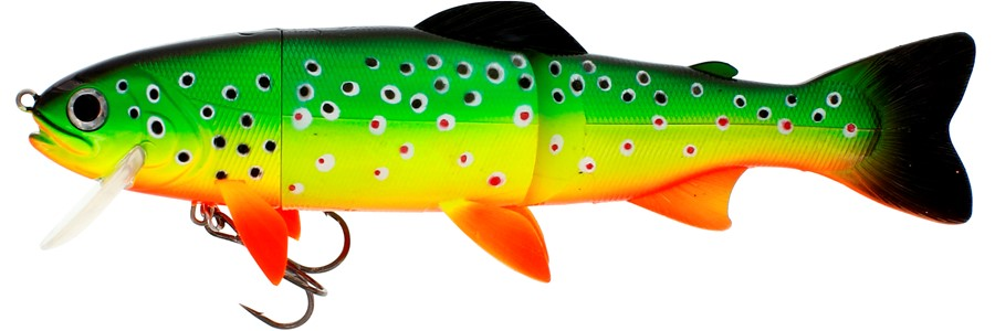 Westin Tommy the Trout Hybrid 25cm - Crazy Firetiger
