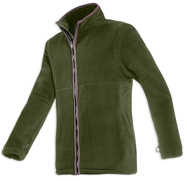 Baleno Henry Fleece Jacket - Green khaki