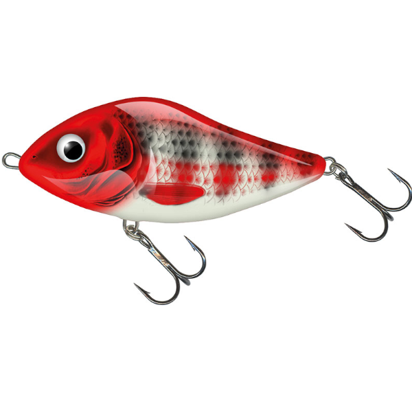Salmo Slider 7cm Floating - Red Head Striper