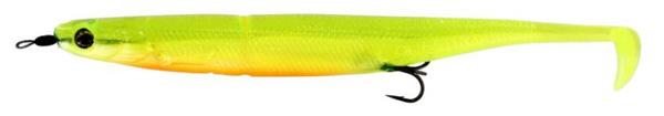 Westin KickTeez Shadtail 15 cm Rigged, 2 pièces - Slime Curd