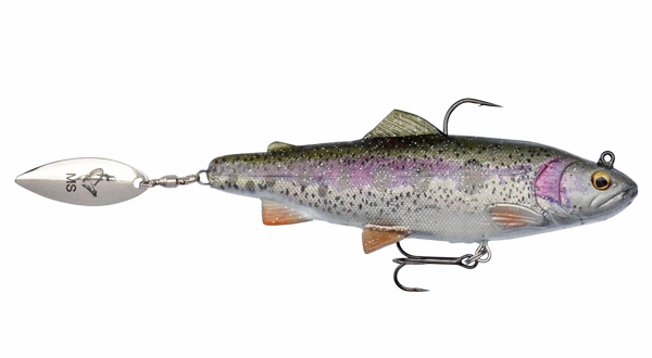 Savage Gear 4D Trout Spin Shad - Rainbow Trout