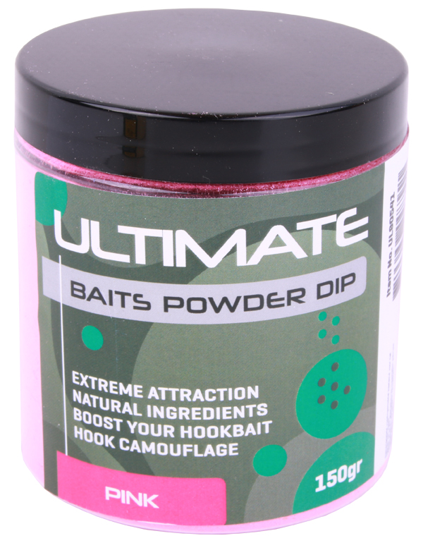 Ultimate Baits Powder Dip (choix entre 3 options) - Pink