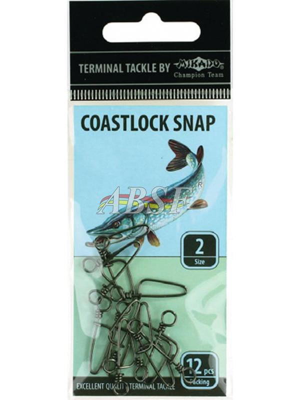 Mikado Coastlock Snap (choix entre 7 options)