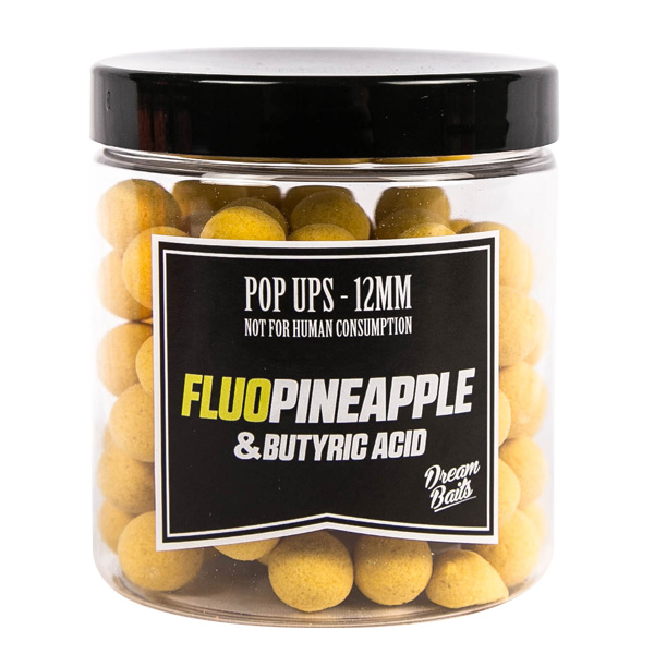 Dreambaits Fluo Pop Ups (choix entre 10 options) - FluoPineapple