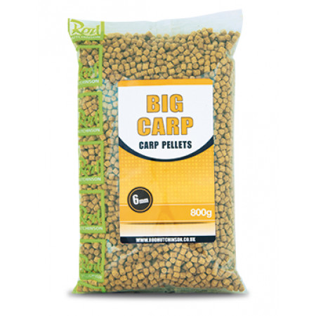 Rod Hutchinson Carp Pellets 'Big Carp' (choix entre plusieurs options) - Rod Hutchinson Carp Pellets 'Big Carp' 6mm (800g)