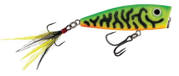 Salmo Fury Popper 7 cm - Green Tiger