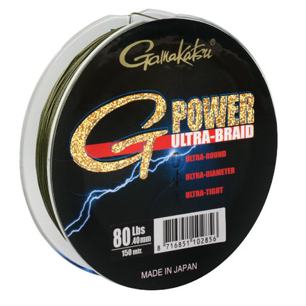 Gamakatsu Ultra G-Power Tresse 150 m