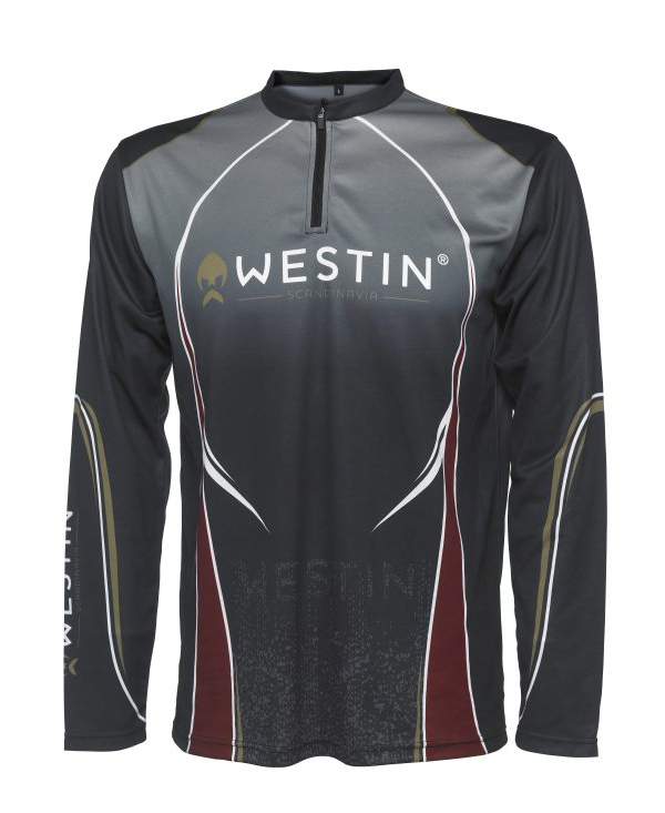 Westin Tournament Shirt LS XXL (choix entre 2 options) - Pirate Black