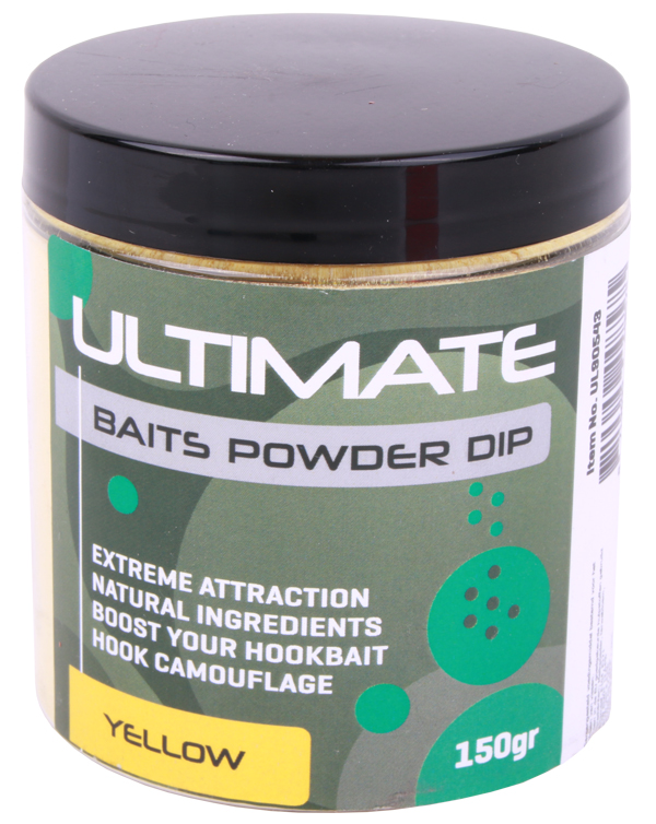 Ultimate Baits Powder Dip (choix entre 3 options) - Yellow