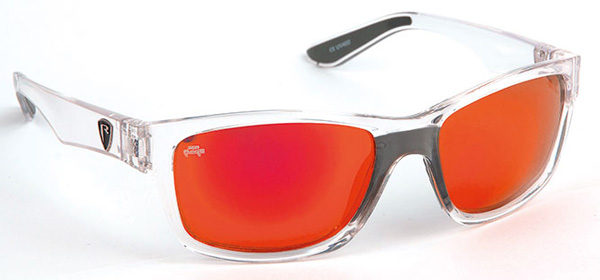 Fox Rage Eyewear - Fox Rage Sunglasses Trans / Mirror Red