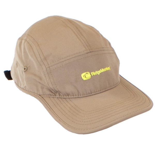 Ridgemonkey 5 Panel Cap - Khaki