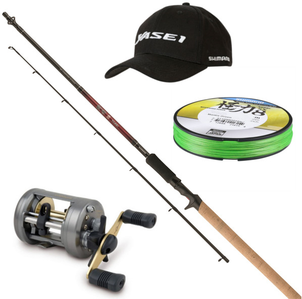 Shimano Yasei Red Heavy Pike Casting Set