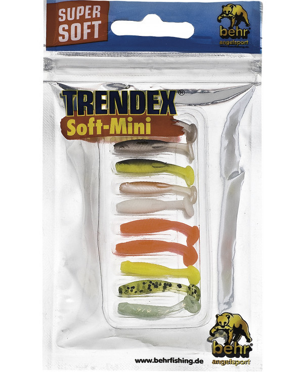 Behr Trendex Soft Mini Multi-Color Mix, 10 pièces ! (choix entre 2 options) - 3 cm
