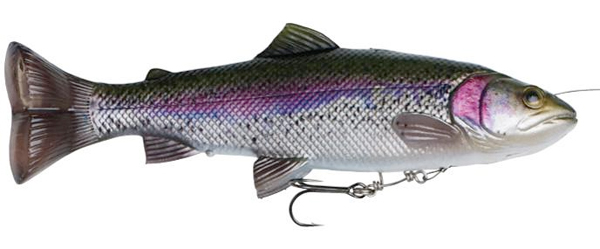 Savage Gear 4D Line Thru Pulsetail Trout - Rainbow Trout