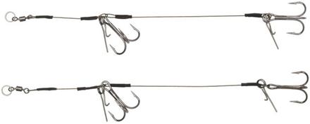 Headbanger Double Stinger avec Spikes, 2 pièces (choix entre 3 options)