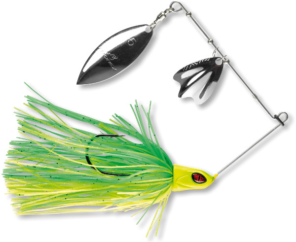 Prorex DB Spinnerbait (choix entre 4 options) - Green Chartreuse