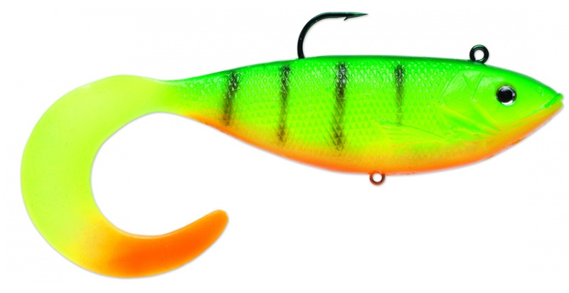 Storm WildEye Seeker Shad - Green Tiger