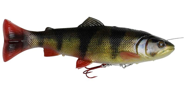 Savage Gear 4D Line Thru Pulsetail Trout - Perch
