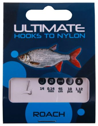 Ultimate Roach Hooks To Nylon 10 pcs