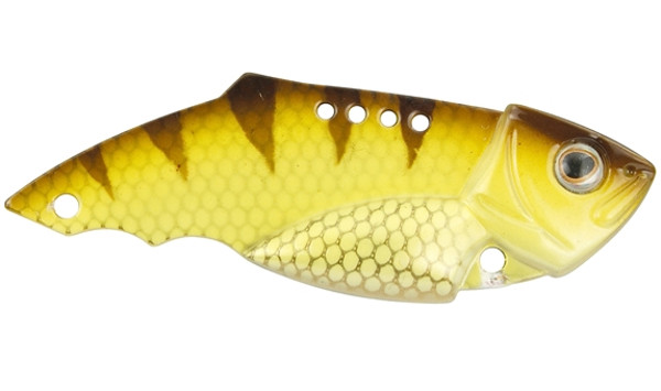 Spro Teppan Vib 21 et 28 gramme (Choix entre 20 options) - Yellow Perch