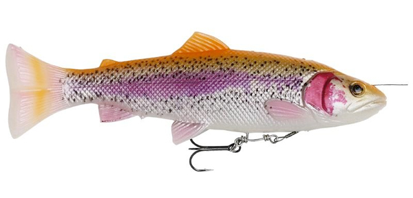 Savage Gear 4D Line Thru Pulsetail Trout - Albino Trout