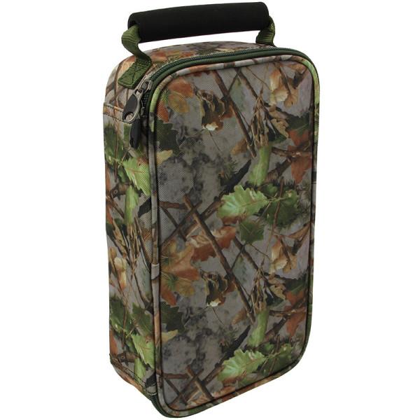 NGT Glug Bag Camouflage avec 6 Pots