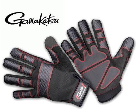 Bekleidung Gamakatsu Armor Gloves 5 Finger L