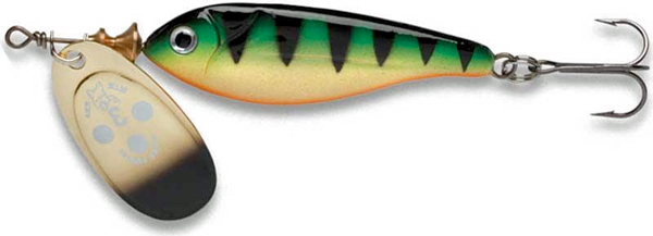 Blue Fox Vibrax Minnow Super Spinner - GP