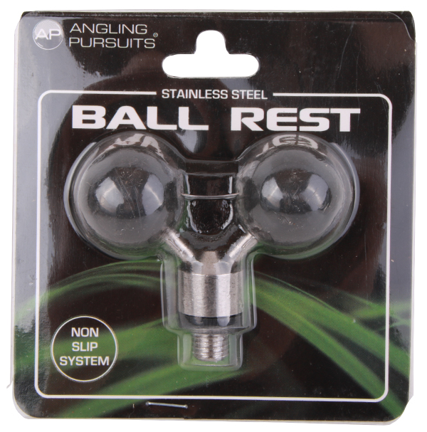 NGT Twin Stainless Steel Black Adjustable Ball Rest