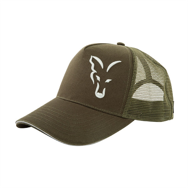 Fox Green-Silver Trucker Cap