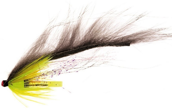 Unique Flies Jetstream Zonker, tubefly pour la pêche des carnassiers ! - Green Grizzly