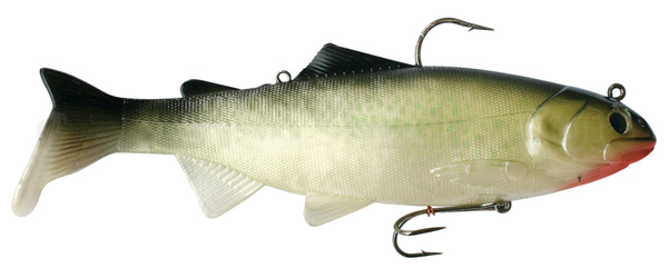 Reaction Strike Bass Harasser 6''/15 cm - Hitch, Red Throat
