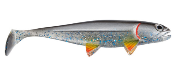 Jackson The Fish 12.5cm, 3 pièces! - Silver Shad