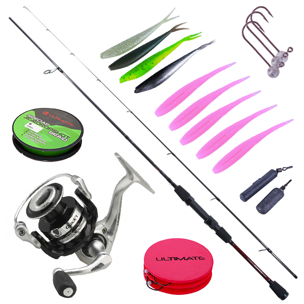 Ultimate Light Jig & Dropshot Set pour le dropshot, l'ultra light ou le streetfishing !