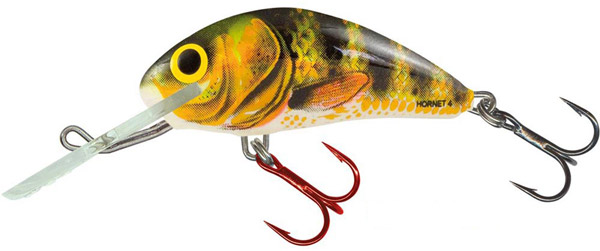 SUPERDEAL! Leurre Salmo Hornet 6cm Floating (9 options) - Real Identity Perch (RIP)