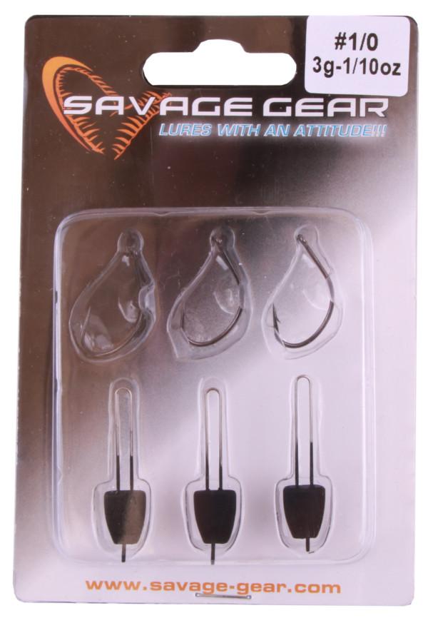Savage Gear Ensemble Leurres Perche (poissons nageurs, leurres souples, imitation d'écrevisse et une boîte de pêche Panaro)