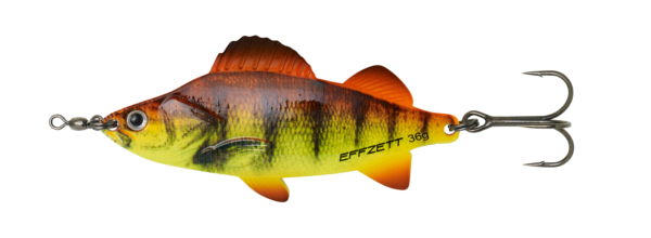 Effzett Perch Spoon (plusieurs options) - Orange Perch UV