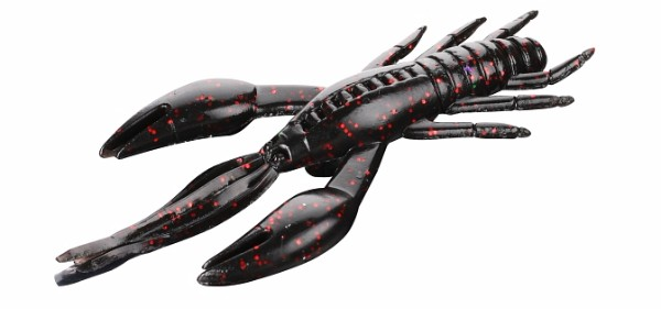 Mikado Cray Fish 10 cm - Black/ Red