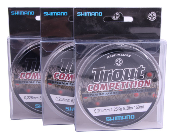 Shimano Trout Competition Nylon (4 options)