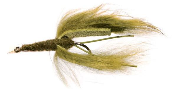 Unique Flies Crayfish Zonker (choix entre 2 options)
