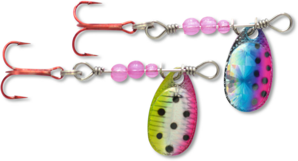 Magic Trout UL-Spinner (choix entre 5 options) - Pink Rainbow